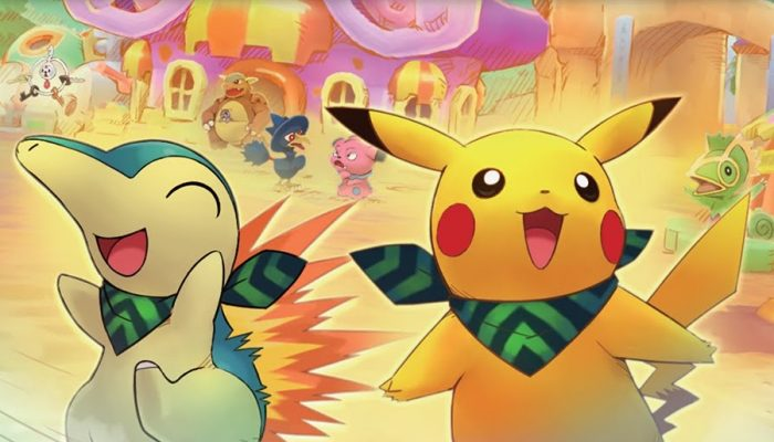 NoE: 'In shops and on Nintendo eShop now: Pokémon Super Mystery Dungeon'