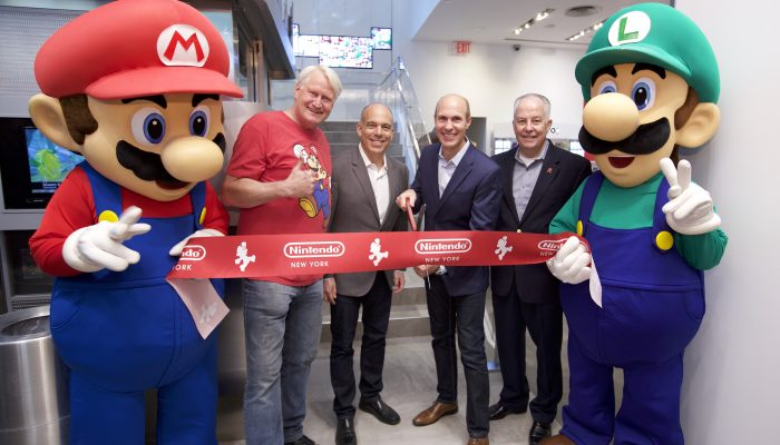 Pictures from the Nintendo NY Store Reopening