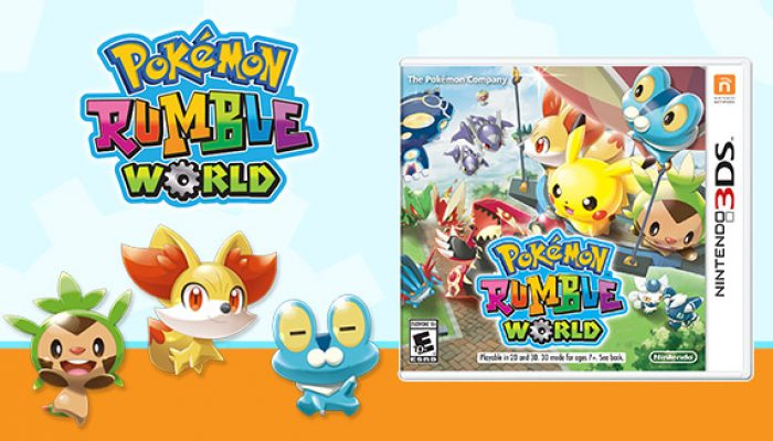 Pokémon: 'The Pokémon Rumble World Package Release Is on the Way!'
