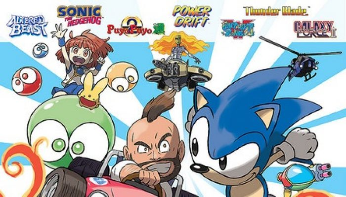 SEGA: 'SEGA 3D Classics Collection Coming to the Americas on April 26th!'