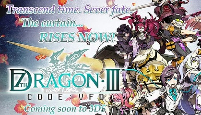 SEGA: 'Get Fired Up as 7th Dragon III Code: VFD Swoops Down to the Americas'
