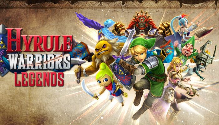 NoE: 'Master the battlefield in Hyrule Warriors: Legends, coming to Nintendo 3DS on March 24th'