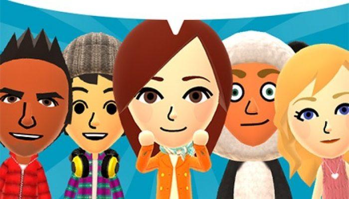 Nintendo France : 'Ouverture des préenregistrements pour Miitomo, la première appli pour appareils connectés dont le lancement aura lieu en mars'