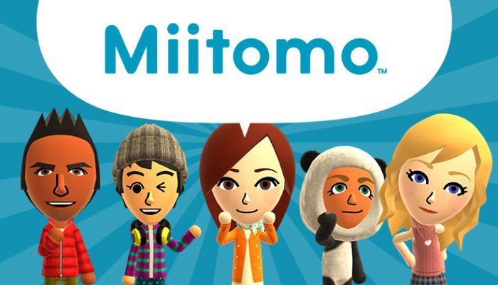 NoA: 'Preregistration now open for Miitomo, Nintendo's first smart device app'