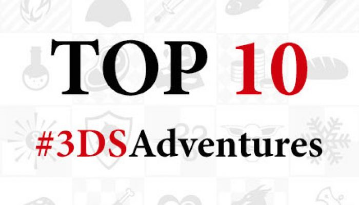 Nintendo UK: 'Top 10 #3DSAdventures for 2016'