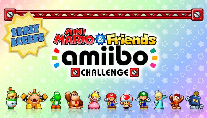 NoA: 'Grab a download code for early access to Mini Mario & Friends amiibo Challenge'