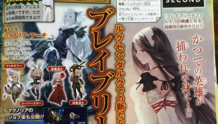 Agnes returns in Bravely Second