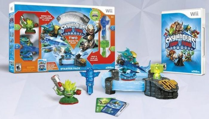 Skylanders Trap Team Wii to Wii U promotion
