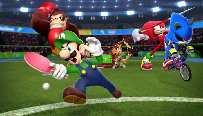 Mario & Sonic at the Rio 2016 Olympic Games – Going for the Gold! Commercial
