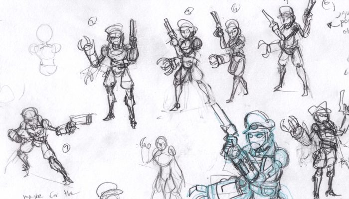 SteamWorld Heist – Concept Art from the Engine Room