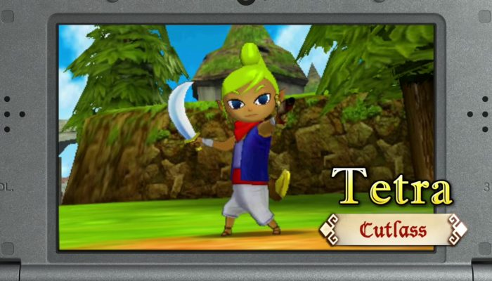 Hyrule Warriors Legends – King Daphnes, Tetra and Linkle Trailers