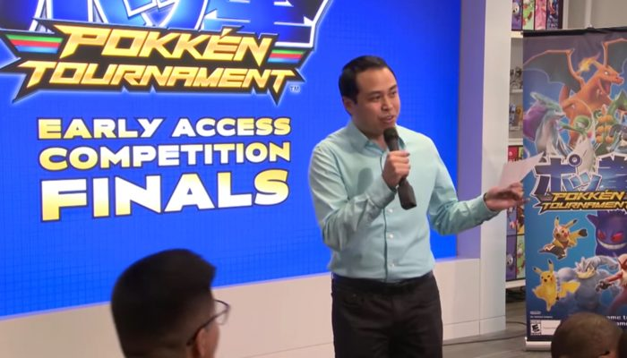 Pokkén Tournament Early Access Competition