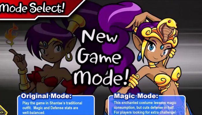 Shantae: Risky's Revenge Director's Cut – Nintendo eShop Trailer