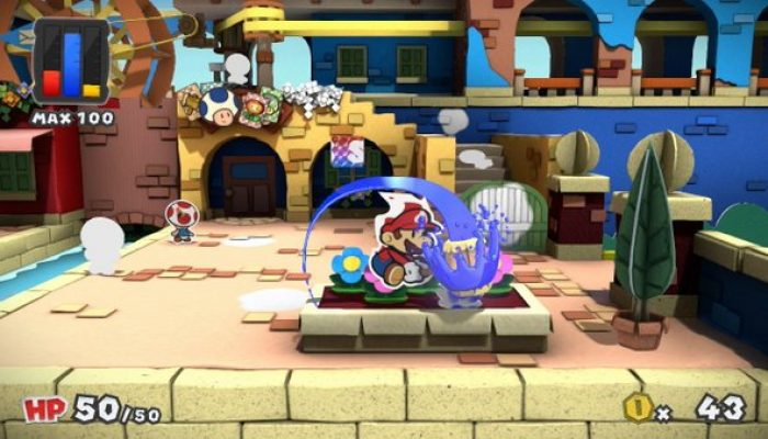 Paper Mario Color Splash announced for Wii U