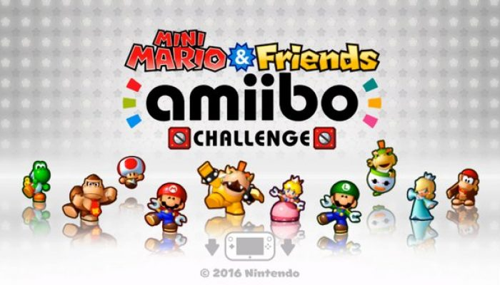 Mini Mario & Friends amiibo Challenge coming to North America