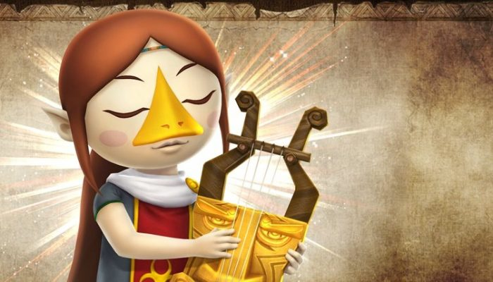 Medli to be available as DLC in Hyrule Warriors Legends