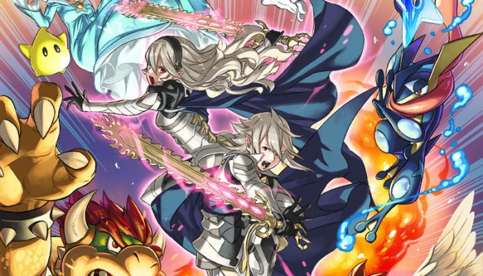 Super Smash Bros. – Corrin, DLC Fighter Art