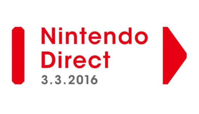Nintendo Direct airing March 3 at 2 PM PT in North America