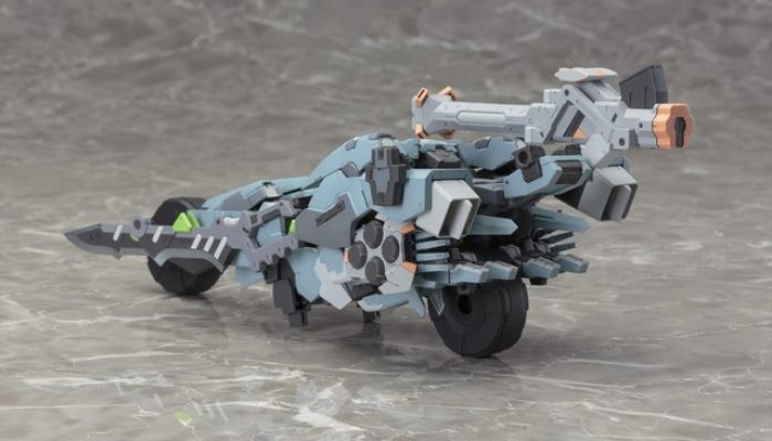Xenoblade Chronicles X – Pictures of the Formula Skell Action Figure