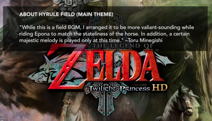 The Music of The Legend of Zelda: Twilight Princess HD – Hyrule Field Theme