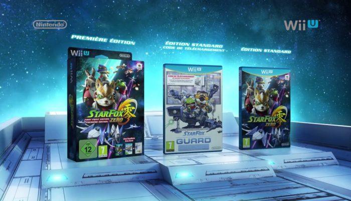 Star Fox Zero & Star Fox Guard – Première édition