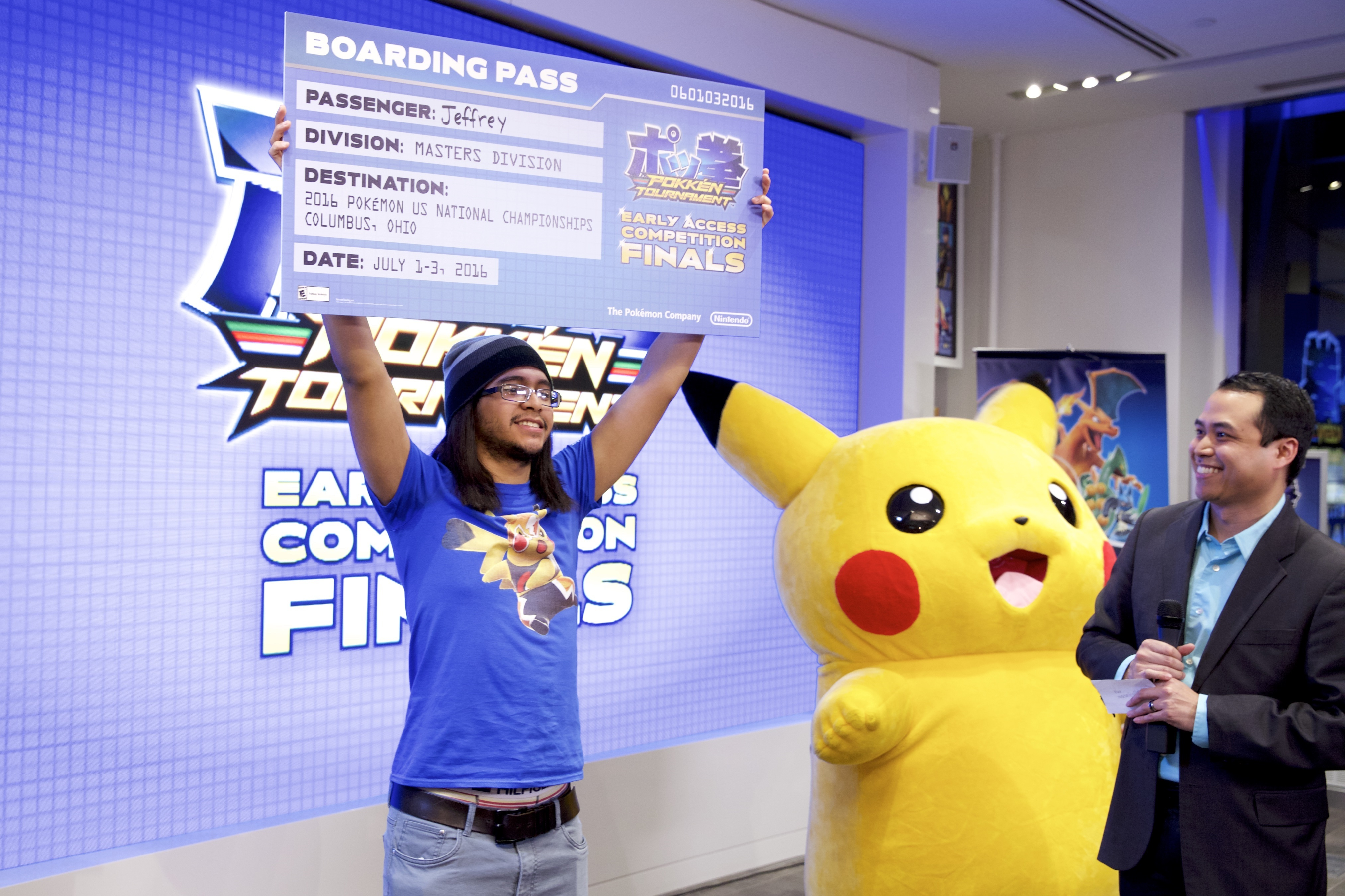 Pokkén Tournament Early Access Competition Finals