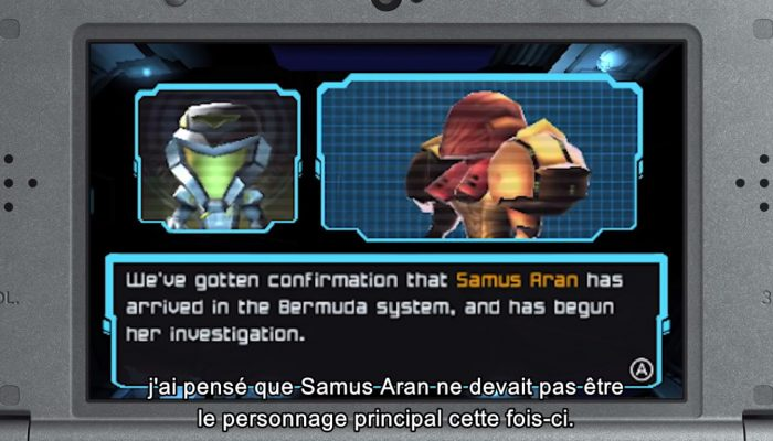 Metroid Prime : Federation Force – Message de Kensuke Tanabe