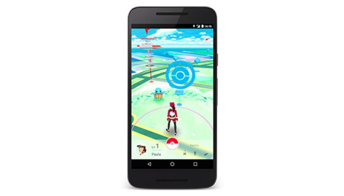 Pokémon Go – First Official Screenshots