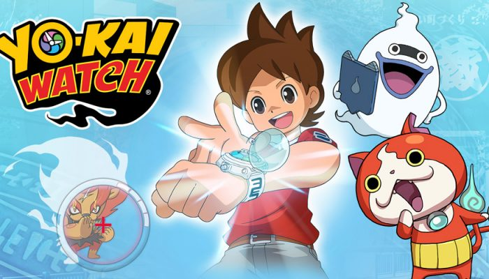 NoE: 'Multi-million-selling Japanese phenomenon Yo-kai Watch heading to Europe this April exclusively on Nintendo 3DS'