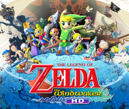 Nintendo Selects The Legend of Zelda The Wind Waker HD