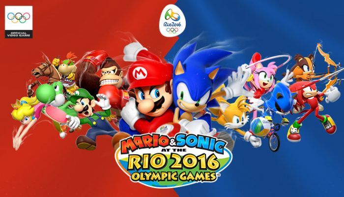 NoA: 'Get in the Games with Mario, Sonic and friends in Mario & Sonic at the Rio 2016 Olympic Games'