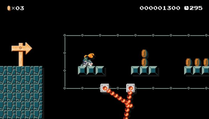 Super Mario Maker – Japanese Wolf Link Footage