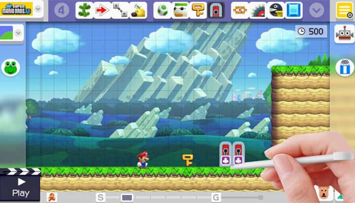 NoA: 'Free game update brings KEY features to Super Mario Maker for Wii U'