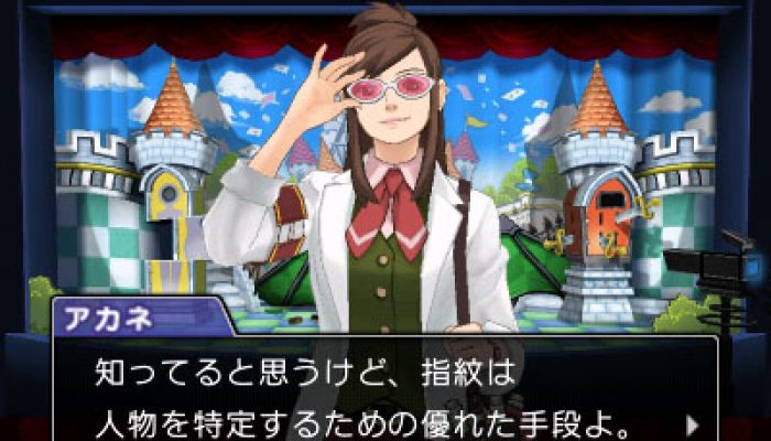 Ace Attorney 6 – Japanese Forensics Screenshots