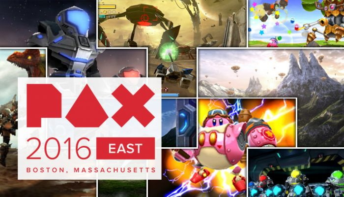 NoA: 'Play upcoming Wii U and Nintendo 3DS games at PAX East in Boston'