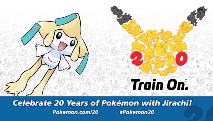 Pokémon XY and ORAS – Celebrate #Pokemon20 with the Mythical Pokémon Jirachi!