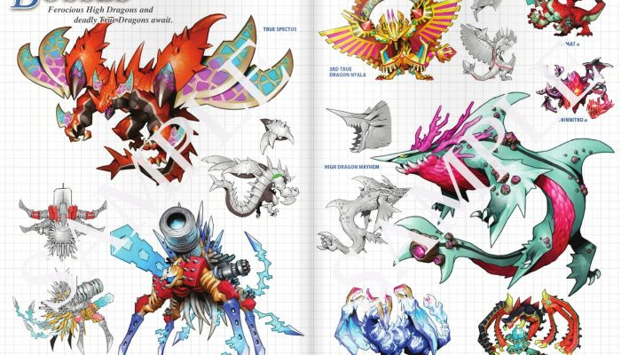 SEGA: '7th Dragon III Code: VFD 28-page art book sample'