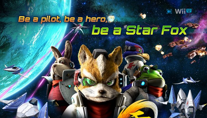 NoE: 'Jump back into the Arwing at our official Star Fox Zero website!'
