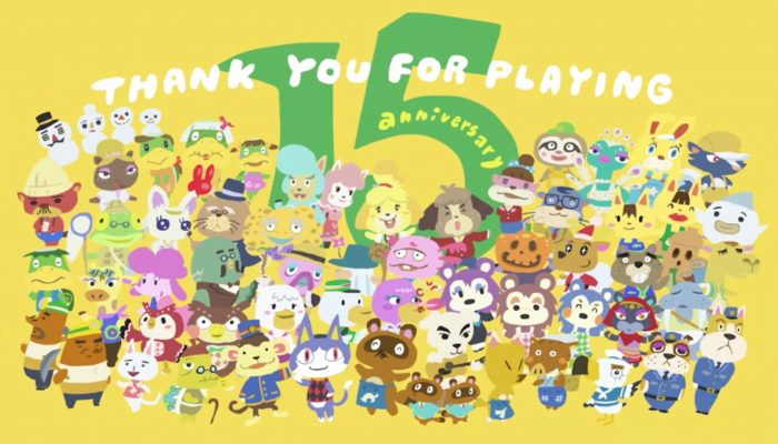 Animal Crossing – Celebrating 15 Years of the Franchise in Japan