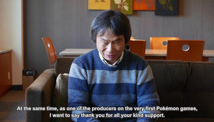 #Pokemon20: Nintendo's Shigeru Miyamoto