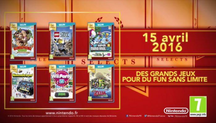 Nintendo Selects – Des jeux Wii U ajoutés !