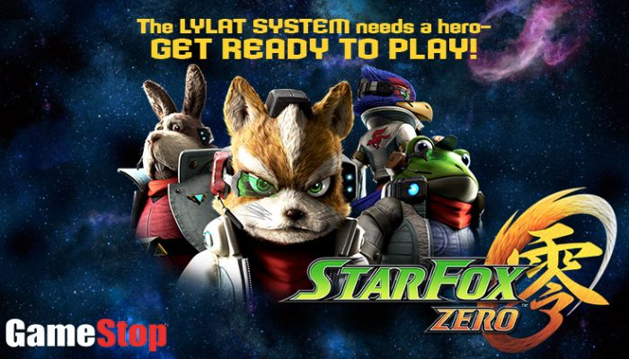 NoA: 'Star Fox Zero demo available at GameStop on 4/23'