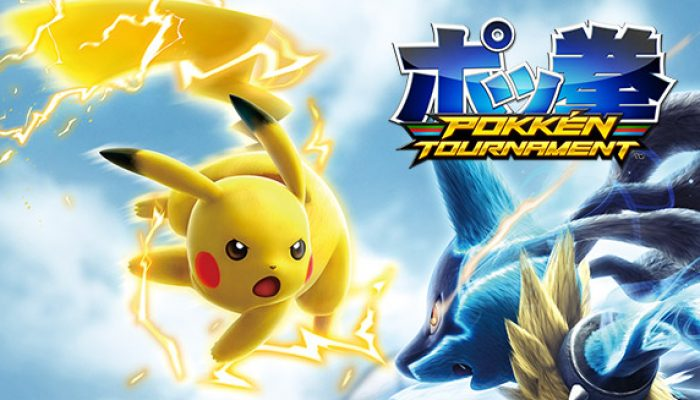Pokémon: 'Download and Play the Pokkén Tournament Demo!'