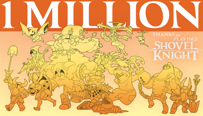 Shovel Knight sold over a million copies