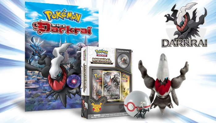 Pokémon: 'The Spotlight Shines on Darkrai in May!'
