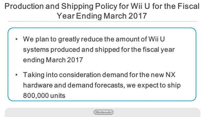 Nintendo FY3/2016 Financial Results Briefing, Part 6: Fiscal Year Prospects
