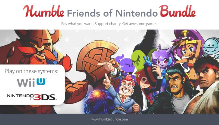 The Humble Friends of Nintendo Bundle grossed more than a million dollars