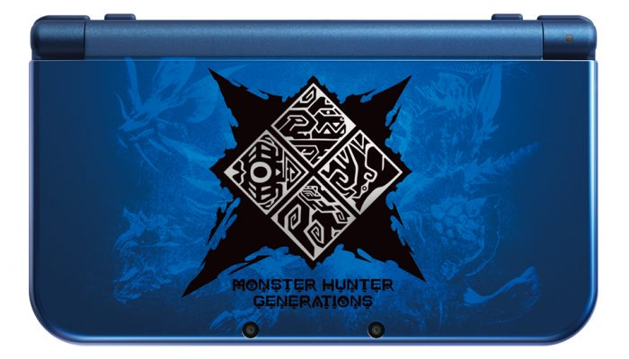 Capcom: 'Monster Hunter Generations and Limited Edition New 3DS XL coming July 15'