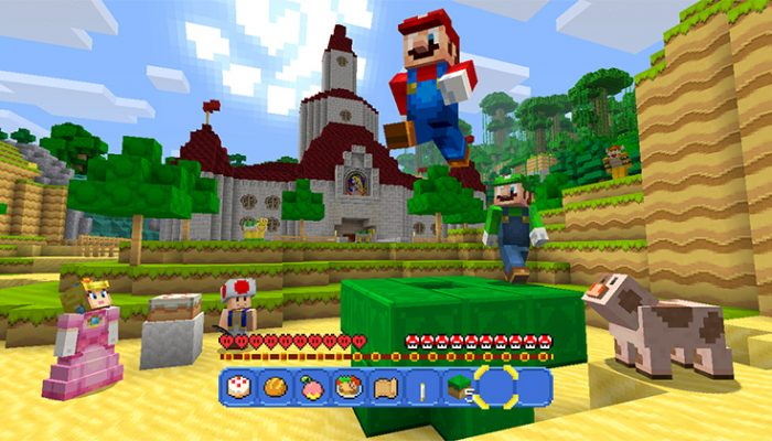 NoA: 'Two beloved video game franchises collide in the Super Mario Mash-Up Pack for Minecraft: Wii U Edition'