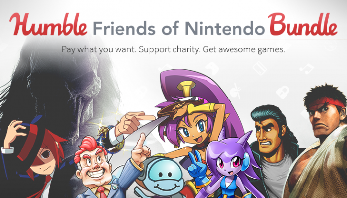 NoA: 'Nintendo & Humble introduce all new Humble Friends of Nintendo Bundle'